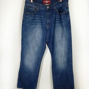 Lucky Brand 181 relaxed straight denim jeans 32x30